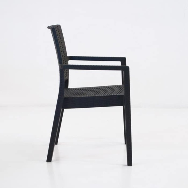 Event Cafe Dining Chair (Black)-1249