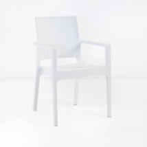 Event Cafe Dining Chair (White)-0