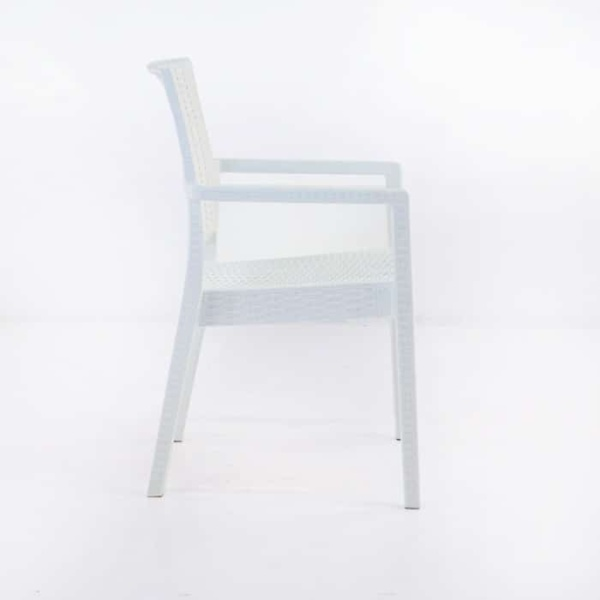 Event Cafe Dining Chair (White)-1256