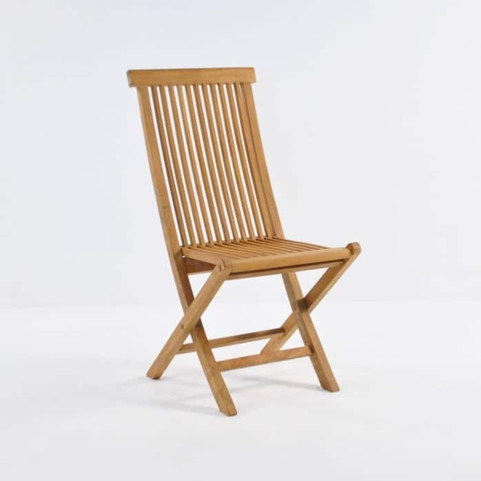 Finger Teak Folding Chair-0