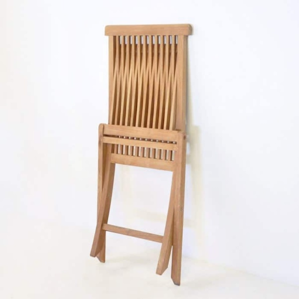 Finger Teak Folding Chair-1257