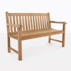 Bowback Teak Bench 2 Seat Design Warehouse