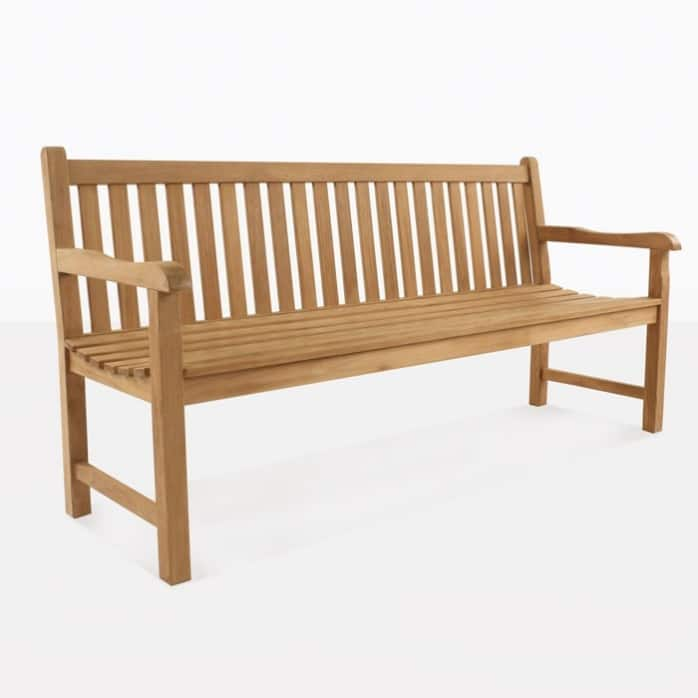 garden teak outdoor bench