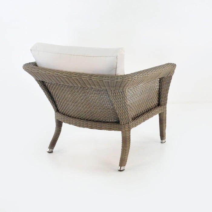 George Relaxing Wicker Arm Chair (Kubu)-1052