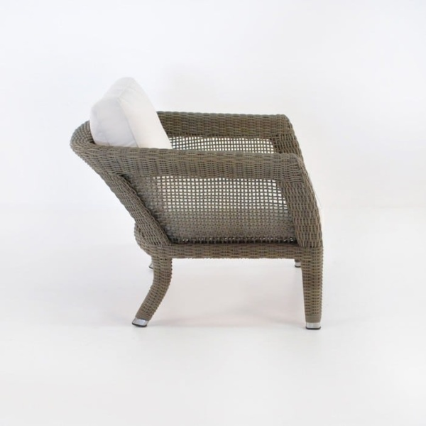 George Relaxing Wicker Arm Chair (Kubu)-1054