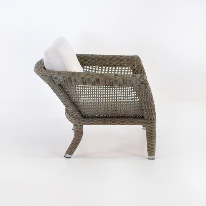 George Relaxing Wicker Arm Chair (Kubu)-1054