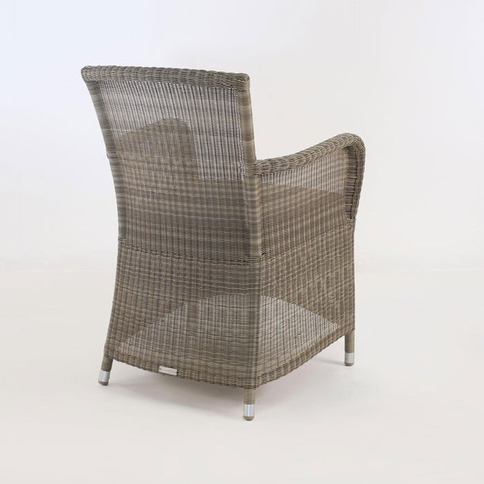 Gilbert Wicker Dining Arm Chair-450
