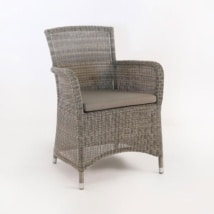Gilbert Wicker Dining Arm Chair-0