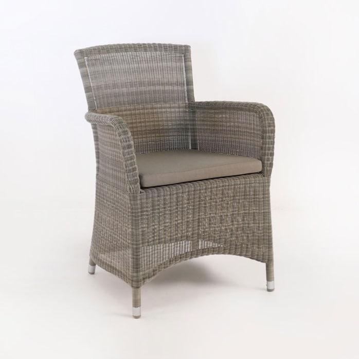 Gilbert Wicker Dining Arm Chair-0