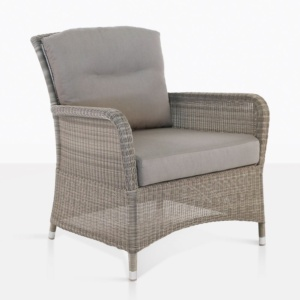 Gilbert relaxing chair outdoor seaside angle