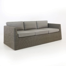 Giorgio Outdoor Wicker Sofa (Kubu)-0