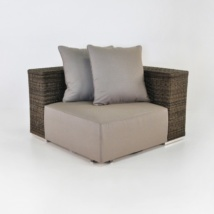 Hogan Outdoor Wicker Sectional (Corner) -0