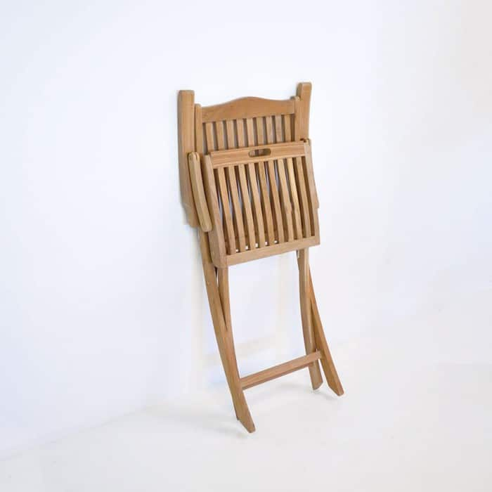 Kensington Teak Folding Dining Arm Chair-460