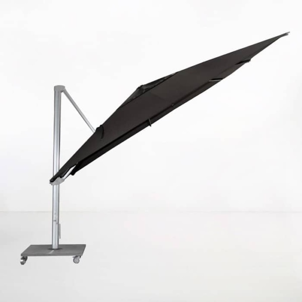 Kingston 4 Metre Cantilever Umbrella (Black)-1393