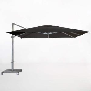 Kingston 4 Metre Cantilever Umbrella (Black)-0