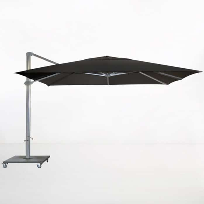 Kingston 4 Metre Cantilever Umbrella (Black)-0