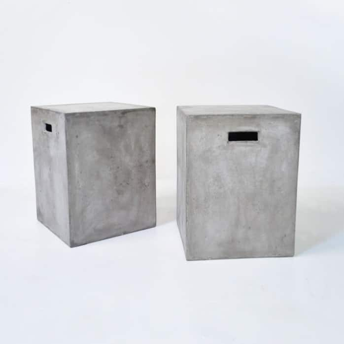 Blok Square Concrete Letter Box-0