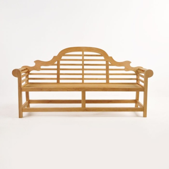 Lutyens Outdoor Bench In Teak (3 Seat) 0 ...
