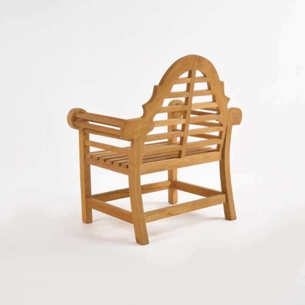 Lutyens Teak Relaxing Outdoor Chair-1061