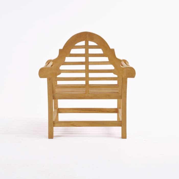 Lutyens Teak Relaxing Outdoor Chair-1065
