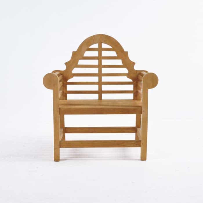 Lutyens Teak Relaxing Outdoor Chair-1063