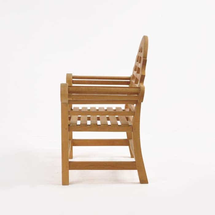 Lutyens Teak Relaxing Outdoor Chair-1064