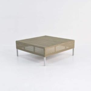 Madison Outdoor Wicker Coffee Table (Stonewash)-0