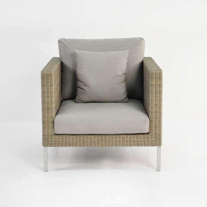 Madison Outdoor Wicker Club Chair (Stonewash)-695