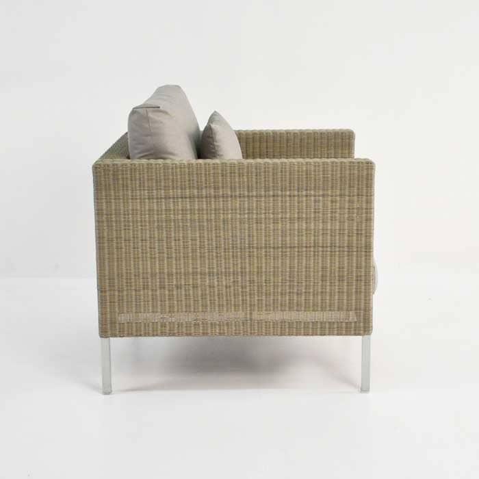 Madison Outdoor Wicker Club Chair (Stonewash)-693
