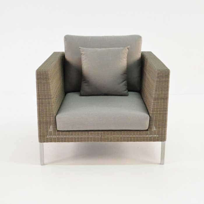 Madison Outdoor Wicker Club Chair-687