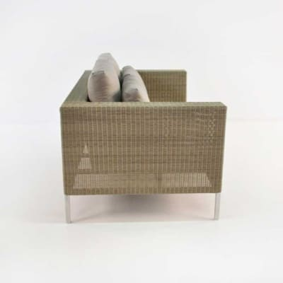 madison wicker loveseat