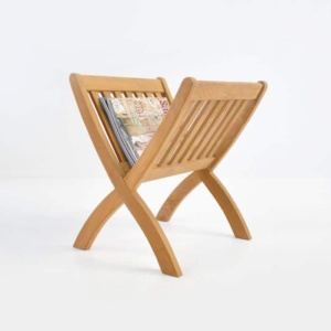 Teak wood Magazine Rack