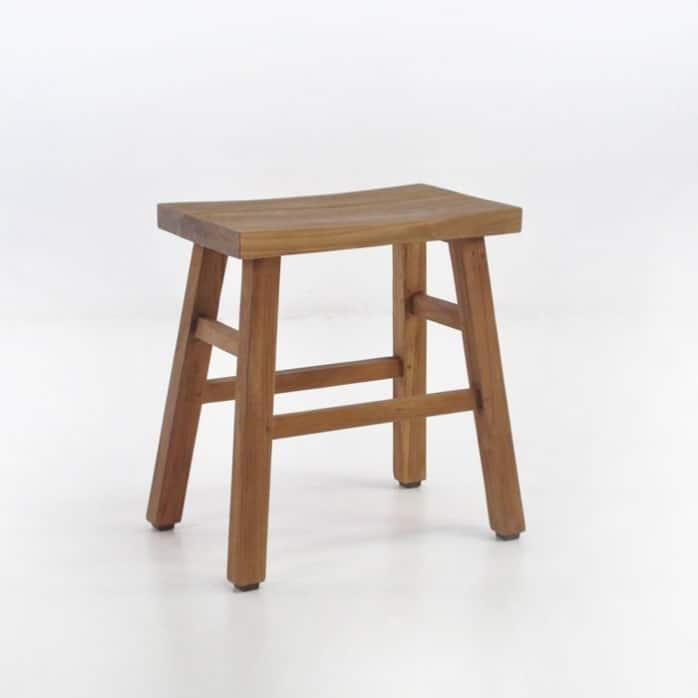 Maid Reclaimed Teak Stool-0