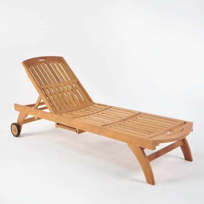 Maui Teak Sun Lounger-946