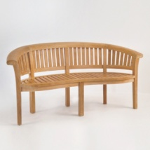 Monet Teak Outdoor Bench