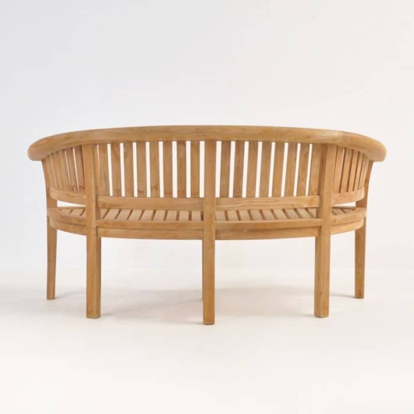 Monet Teak Outdoor Bench-1481