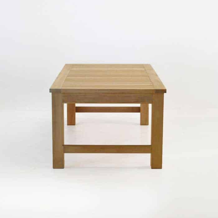 Monterey teak outdoor coffee table patio furniture for C furniture warehouse nz