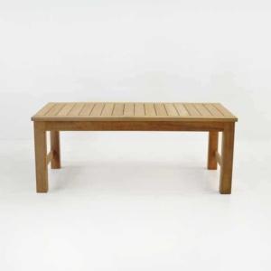 monterey a-grade teak coffee table
