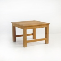 monterey teak side table
