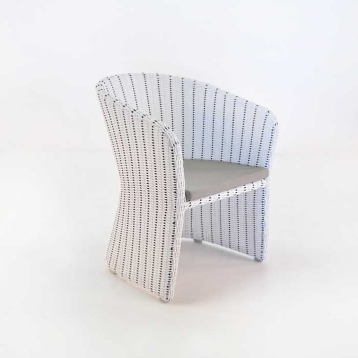 Nautical Wicker Dining Chair-0