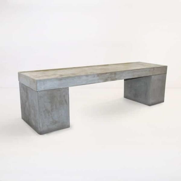 Blok Outdoor Concrete Bench-0