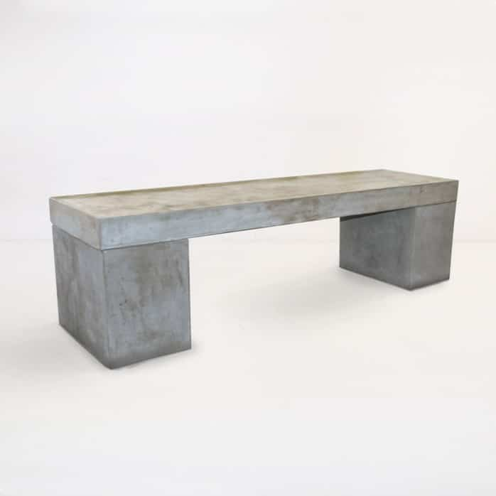 Blok Outdoor Concrete Bench 0