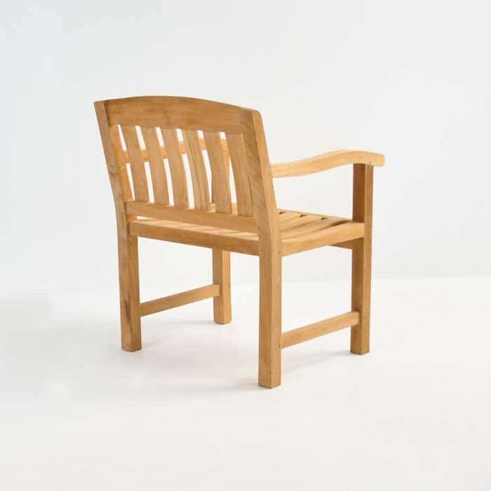 Newport Teak Arm Chair-479