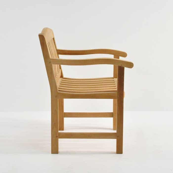 Newport Teak Arm Chair-481