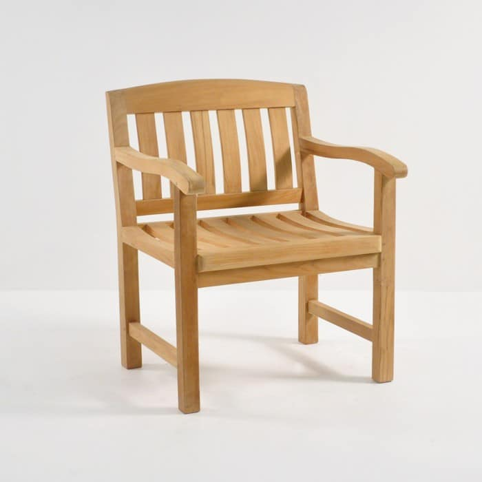 Newport Teak Arm Chair-0