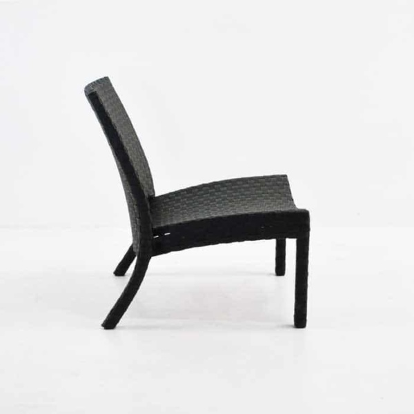 Outdoor Wicker Relaxing Chair side view