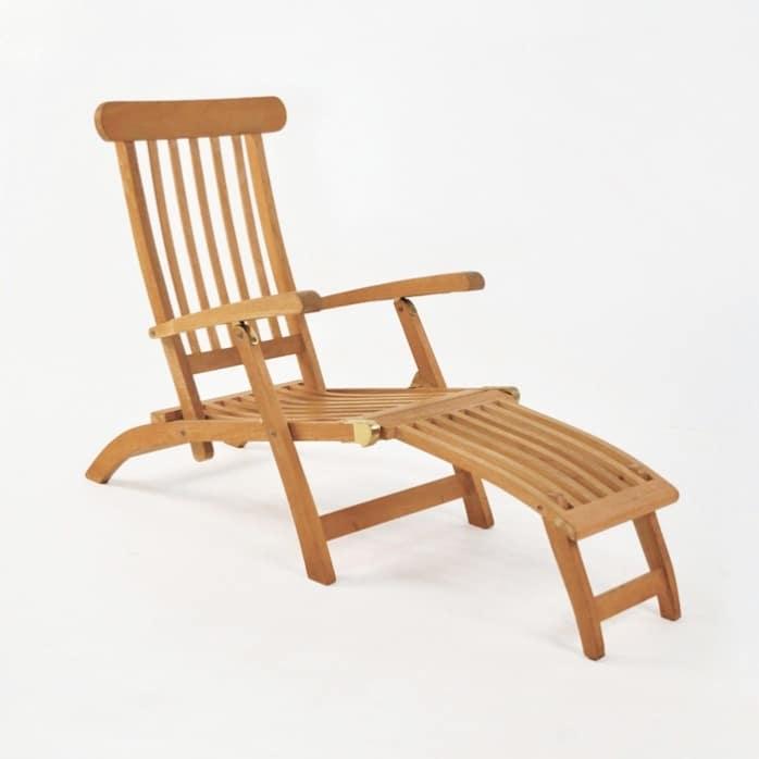 Normal Teak Steamer Chair 0