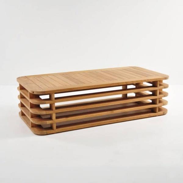 ocean teak coffee table