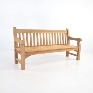 Oxford Teak Outdoor Bench (4 Seat)-0