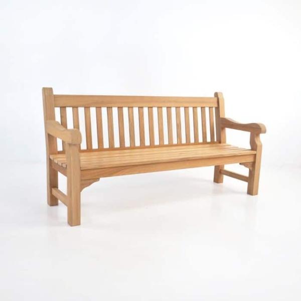 Oxford Teak Outdoor Bench (4 Seat)-0